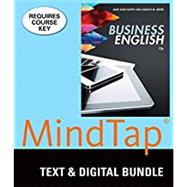 Bundle: Business English, Loose-Leaf Version, 12th + LMS Integrated for MindTap Business Communication, 1 term (6 months) Printed Access Card by Guffey, Mary Ellen; Seefer, Carolyn M., 9781305939264