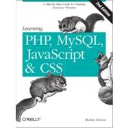 Learning PHP, MySQL, JavaScript, and CSS by Nixon, Robin, 9781449319267