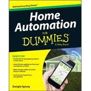 Home Automation for Dummies by Harvell, Ben, 9781118949269