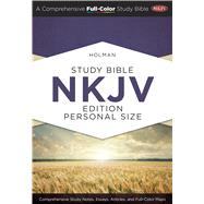 Holman Study Bible: NKJV Edition Personal Size Hardcover Indexed by Holman Bible Staff, 9781433619274