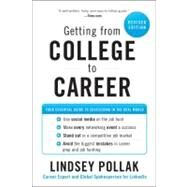 Getting from College to Career by Pollak, Lindsey, 9780062069276