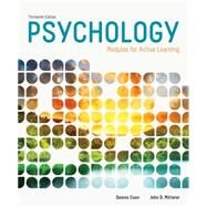 Psychology Modules for Active Learning by Coon, Dennis; Mitterer, John O., 9781285739281