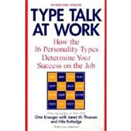 Type Talk at Work (Revised) by KROEGER, OTTOTHUESEN, JANET M., 9780440509288