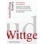 Philosophical Investigations by Wittgenstein, Ludwig; Hacker, P. M. S.; Schulte, Joachim, 9781405159289