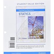 Engineering Mechanics Statics, Student Value Edition Plus MasteringEngineering with Pearson eText -- Access Card Package by Hibbeler, Russell C., 9780134209296
