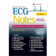 ECG Notes: Interpretation and Management Guide by Jones, Shirley A., 9780803639300