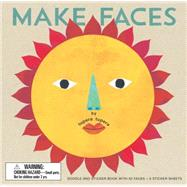 Make Faces: Doodle and Sticker Book With 52 Faces + 6 Sticker Sheets by Tupera, Tupera, 9781452139302
