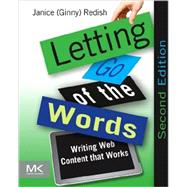 Letting Go of the Words by Redish, Janice, 9780123859303