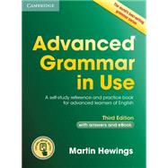 Advanced Grammar in Use by Hewings, Martin, 9781107539303