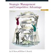Strategic Management and Competitive Advantage Concepts by Barney, Jay B.; Hesterly, William S., 9780133129304