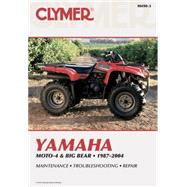 Yamaha Moto-4 & Big Bear 1987-2004 by Primedia Business Directories & Books, 9780892879304