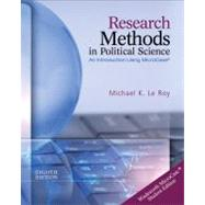Research Methods in Political Science (with MicroCase Printed Access Card) by Le Roy, Michael K., 9781133309307