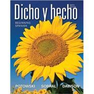 Dicho y hecho: Beginning Spanish 9E w/ accompanying Audio Binder Ready Version and WileyPLUS Aud Premium Set