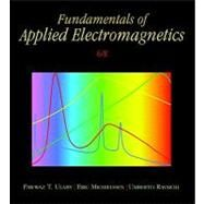 Fundamentals of Applied Electromagnetics by Ulaby, Fawwaz T.; Michielssen, Eric; Ravaioli, Umberto, 9780132139311