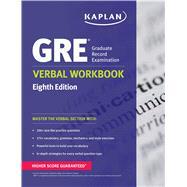 GRE® Verbal Workbook by Kaplan, 9781609789312