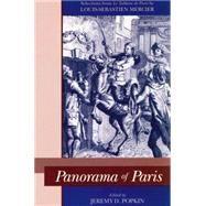 Panorama of Paris: Selections from Le Tableau De Paris 9780271019314U