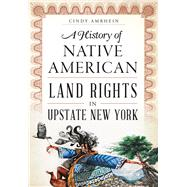 A History of Native American Land Rights in Upstate New York by Amrhein, Cindy, 9781626199316