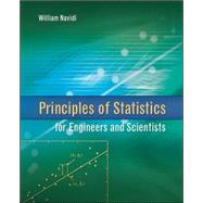Principles of Statistics for Engineers and Scientists by Navidi, William, 9780077289317