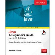 Java: A Beginner's Guide, Seventh Edition by Schildt, Herbert, 9781259589317