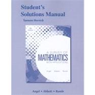Student Solutions Manual for A Survey of Mathematics with Applications by Angel, Allen R.; Abbott, Christine D.; Runde, Dennis C.; Herrick, Tamsen, 9780321639318