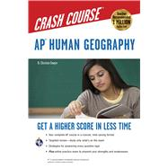 Ap Human Geography Crash Course by Sawyer, Christian, Dr., 9780738609324