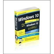 Windows 10 for Dummies Book + Online Videos Bundle by Rathbone, Andy, 9781119049326