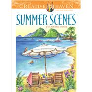 Creative Haven Summer Scenes Coloring Book by Goodridge, Teresa, 9780486809335