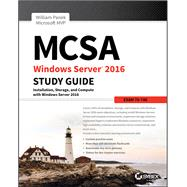Mcsa Windows Server 2016 by Panek, Will, 9781119359340