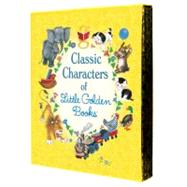 Classic Characters of Little Golden Books by Golden Books Publishing Company, 9780375859342