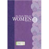 The Study Bible for Women: NKJV Large Print Edition, Willow Green/Wildflower LeatherTouch by Kelley Patterson, Dorothy; Harrington Kelley, Rhonda; Holman Bible Staff, 9781433619342