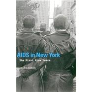 AIDS in New York by Ashton, Jean, 9781857599350