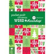 Pocket Posh Christmas Word Roundup 5 100 Puzzles by The Puzzle Society, 9781449469351