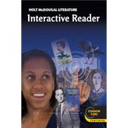 Holt Mcdougal Literature : Interactive Reader Grade 11 American Literature by Unknown, 9780547619354