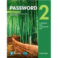 Password 2 with Essential Online Resources by Butler, Linda, 9780134399355