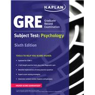 GRE Subject Test: Psychology by Unknown, 9781506209357