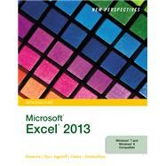 New Perspectives on Microsoft Excel 2013, Introductory by Parsons, June Jamrich; Oja, Dan; Ageloff, Roy; Carey, Patrick; DesJardins, Carol, 9781285169361