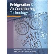 Refrigeration & Air Conditioning Technology (Book with CD-ROM) by Whitman,Bill, 9781428319363