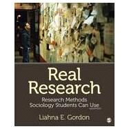 Real Research by Gordon, Liahna E., 9781452299365