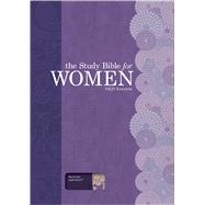 The Study Bible for Women, NKJV Personal Size Edition Plum/Lilac LeatherTouch by Patterson, Dorothy Kelley; Kelley, Rhonda; Holman Bible Staff, 9781433619373