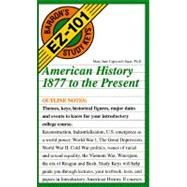 American History 1877 to the Present by Ingui, Mary Jane Capozzoli, 9780812049374