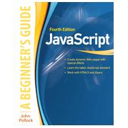 JavaScript: A Beginner's Guide, Fourth Edition by Pollock, John, 9780071809375
