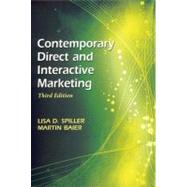Contemporary Direct and Interactive Marketing by Spiller, Lisa D.; Baier, Martin, 9781933199375