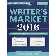Writer's Market 2016 by Brewer, Robert Lee, 9781599639376