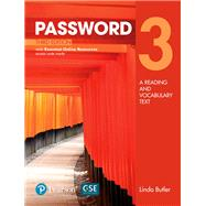 Password 3 with Essential Online Resources by Butler, Linda, 9780134399379