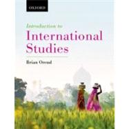 Introduction to International Studies by Orend, Brian, 9780195439380