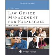 Law Office Management for Paralegals by Vietzen, Laurel A., 9781454859383