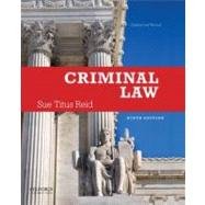 Criminal Law by Reid, Sue Titus, 9780199899388