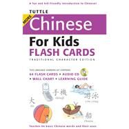 Tuttle More Chinese for Kids Flash Cards: Traditional Character Edition by Tuttle Publishing, 9780804839389