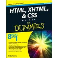 HTML, XHTML and CSS All-in-One for Dummies by Harris, Andy, 9781118289389