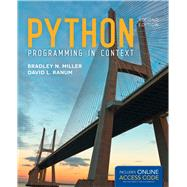 Python Programming in Context by Miller, Bradley N.; Ranum, David L., 9781449699390